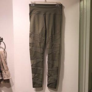 Mesh Cutout Workout Pants